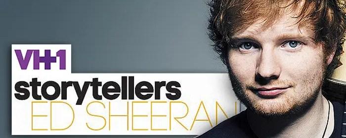 VH1 Storyteller Ed Sheeran