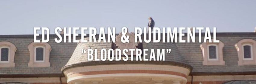 ed sheeran bloodstream music video tease