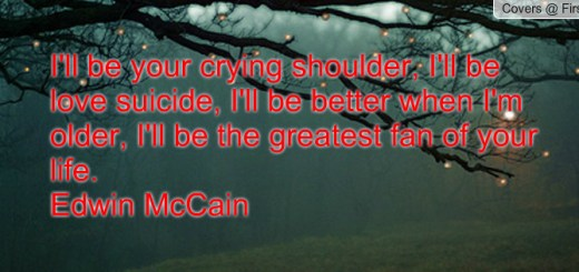 i'll be edwin mccain