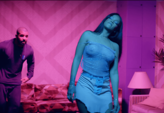"Rihanna wore pretty explicit clothes for ""Work"" music video featuring Drake"