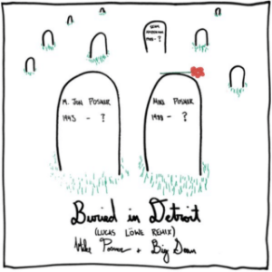 """Buried In Detroit"" cover art from 'At Night, Alone' album by Mike Posner review"