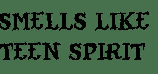 nirvana smells like teen spirit lyrics review song meaning