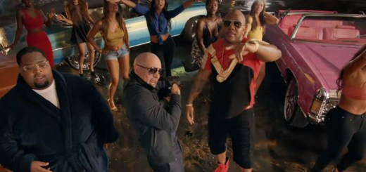 pitbull greenlight music video flo rida lunchmoney lewis