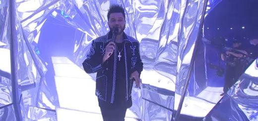 the weeknd starboy live american music awards 2016