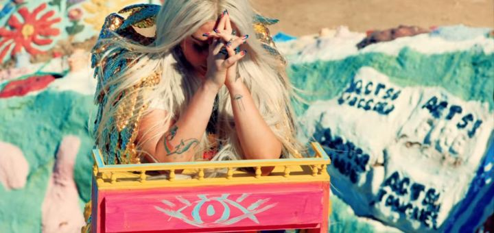 kesha praying music video lyrics review