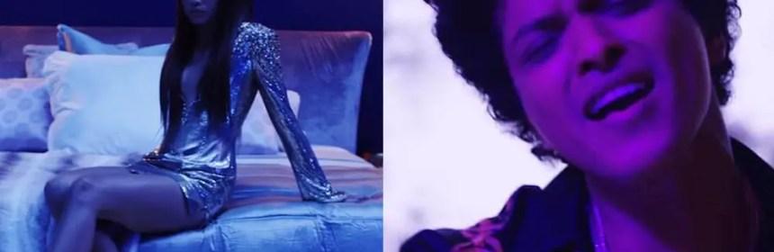 bruno mars versace on the floor music video zendaya review