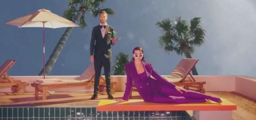 calvin harris dua lipa one kiss music video