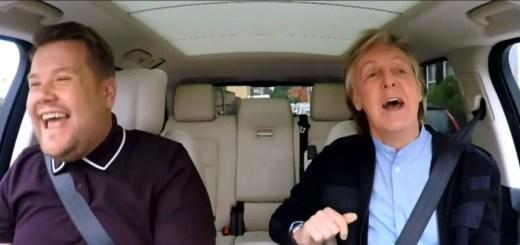 paul mccartney carpool karaoke james corden