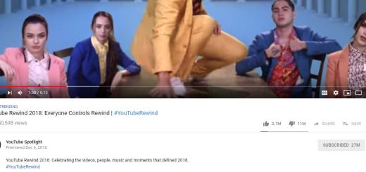 youtube rewind 2018 most disliked video on youtube