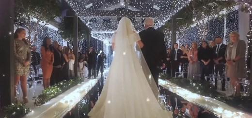 meghan trainor marry me wedding video