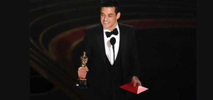 rami malek 2019 oscar awards best actor bohemian rhapsody