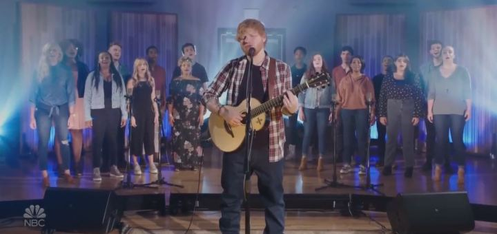 ed sheeran can't help falling in love cover elvis presley tribute