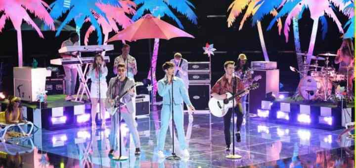 jonas brothers cool live the voice 2019