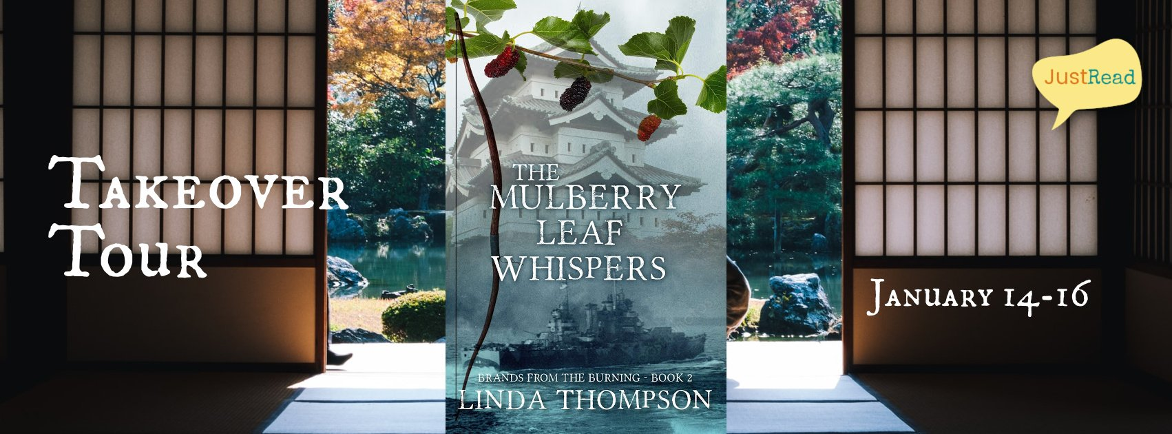 Welcome to The Mulberry Leaf Whispers Takeover Tour & Giveaway!