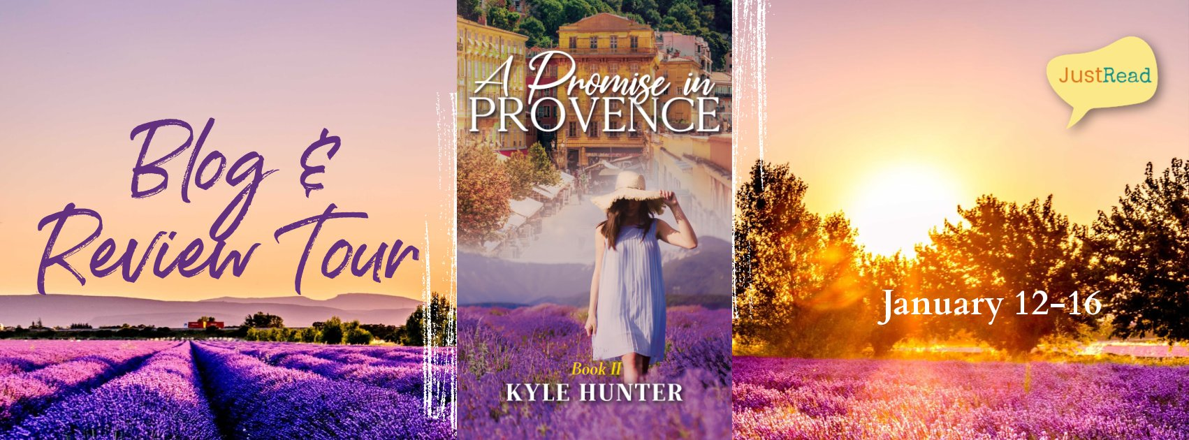 Welcome to the A Promise in Provence Blog + Review Tour & Giveaway!