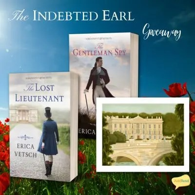 The Indebted Earl JustRead Takeover Giveaway