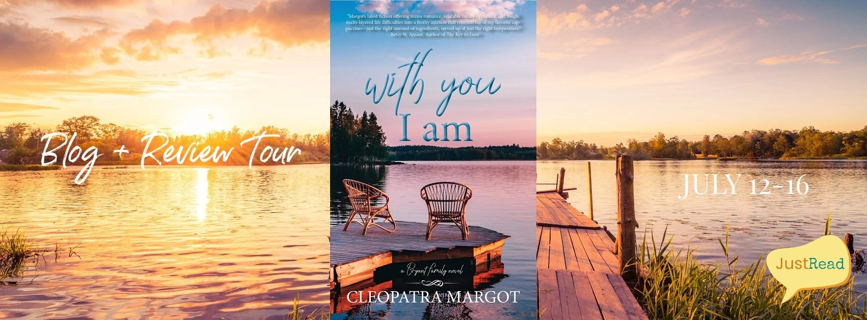 Welcome to the With You I Am Blog + Review Tour & Giveaway!