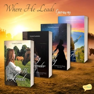 Where He Leads JustRead Giveaway