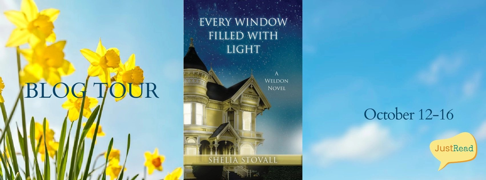 Welcome to the Every Window Filled with Light Blog Tour & Giveaway!