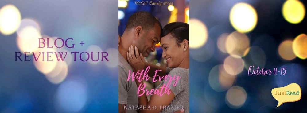 With Every Breath JustRead Blog + Review Tour