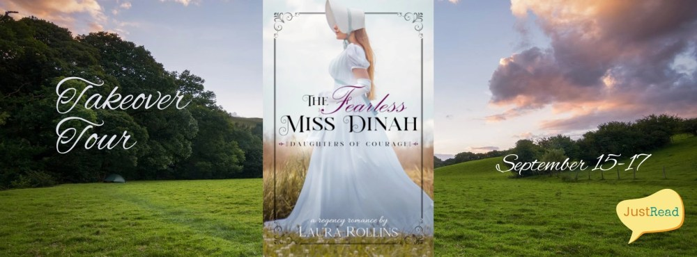 The Fearless Miss Dinah JustRead Takeover Tour