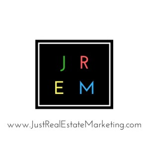 Just Real Estate Marketing Logo