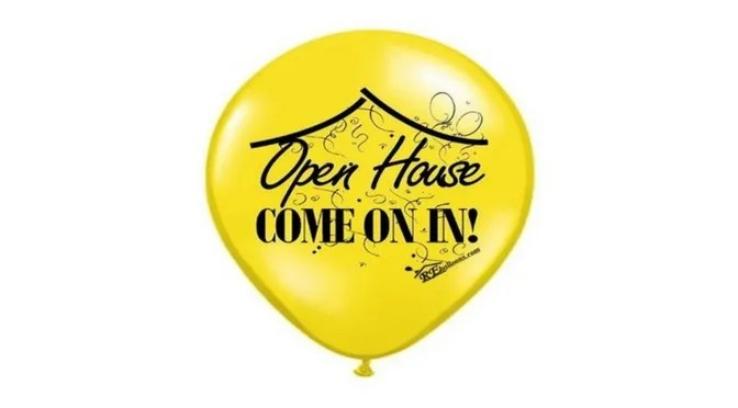Open House Balloons for Sale