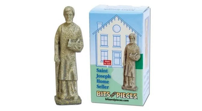 St Joseph Statue to Sell a House