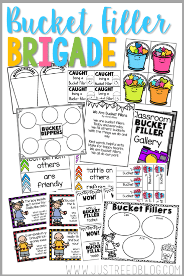 bucket filling resources for classroom management