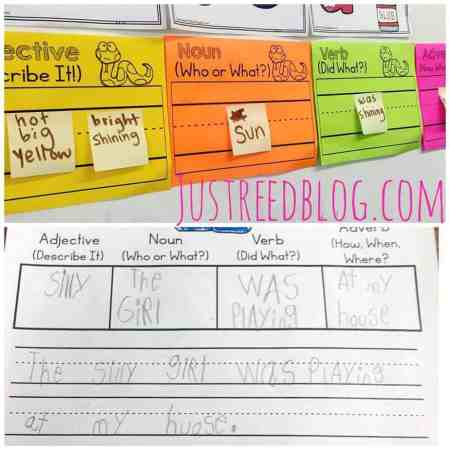 Teach students how to not only compose sentences, but stretch them out and add details with these fun and engaging activities!
