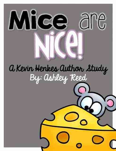 http://www.teacherspayteachers.com/Product/Mice-are-Nice-A-Kevin-Henkes-Author-Study-137191