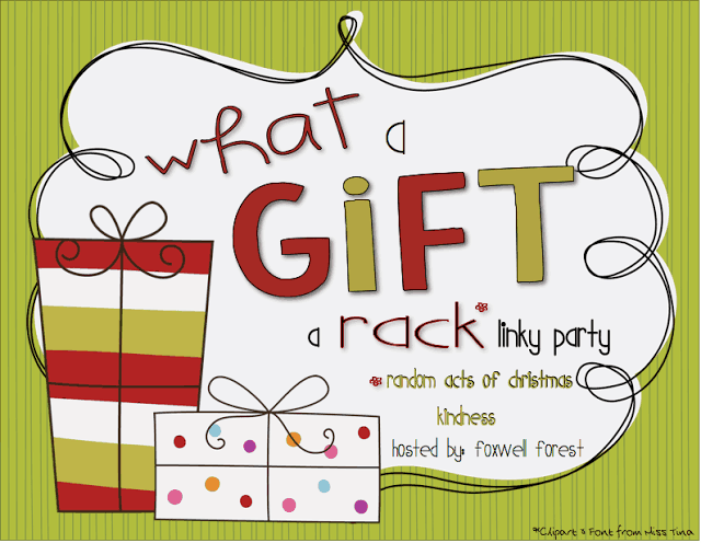 http://foxwellforest.blogspot.com/2013/12/what-gift-rack-linky-party.html