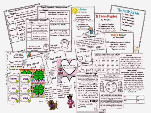 http://www.teacherspayteachers.com/Product/Winter-Flueny-Homework-Practice-Bundle-Jan-March-1088041