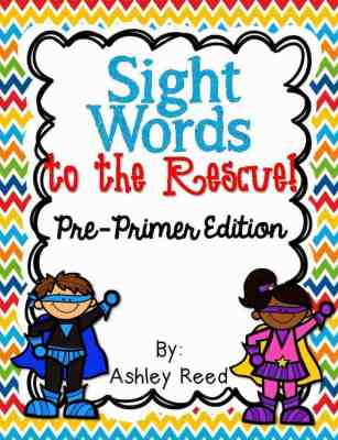 http://www.teacherspayteachers.com/Product/Sight-Words-to-the-Rescue-Pre-Primer-Edition-911155