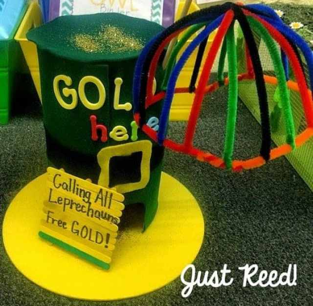 Leprechaun Traps are a fun family project for March