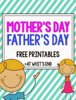 http://www.teacherspayteachers.com/Product/Mothers-Day-Fathers-Day-SUPER-Writing-Printables-Bundle-643888