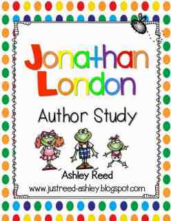 http://www.teacherspayteachers.com/Product/Froggy-Jonathan-London-Author-Study-665571