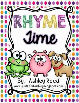https://www.teacherspayteachers.com/Product/Rhyme-Time-836421