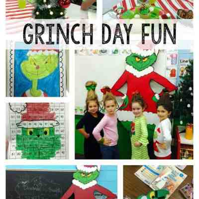 Grinch Day in First Grade!