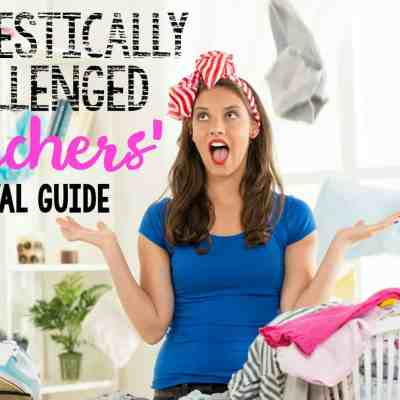 Domestically Challenged Teachers' Survival Guide: Keeping a {Clean Enough} House