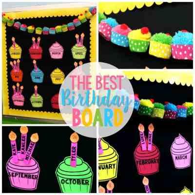 The Best Birthday Board