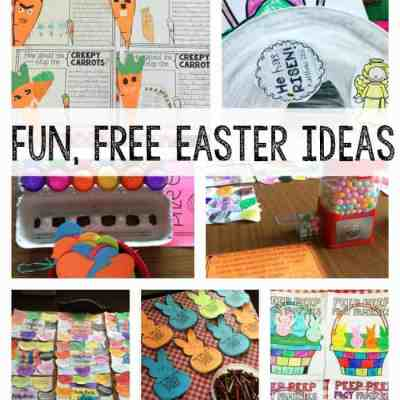 Fun and FREE Easter Ideas