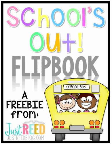 End of School Flipbook Freebie TPT