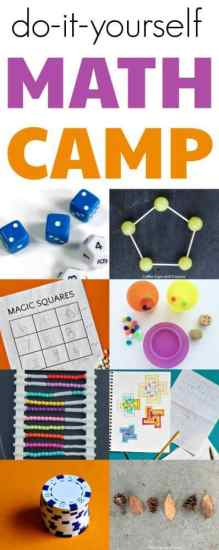 diy math camp