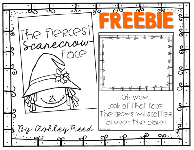 FREE collaborative class book template to follow up reading The Little Scarecrow Boy