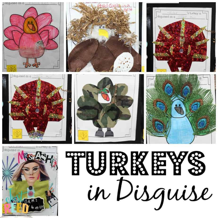 Turkeys in Disguise - Just Reed