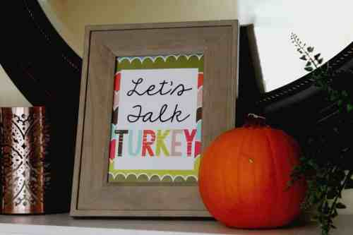 Free Thanksgiving printables to make your celebration festive and fun!