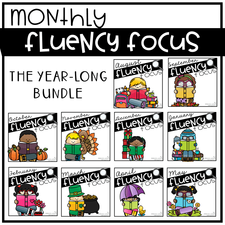 Help your students practice reading fluently month after month