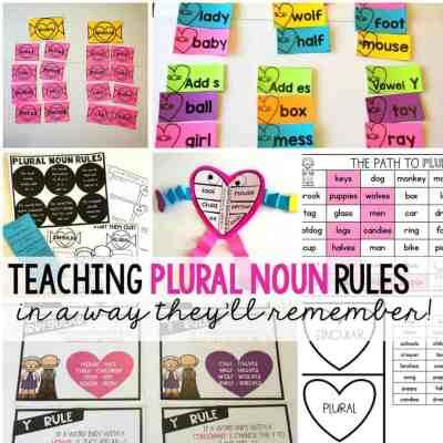 Unforgettable Ideas for Introducing Plural Nouns