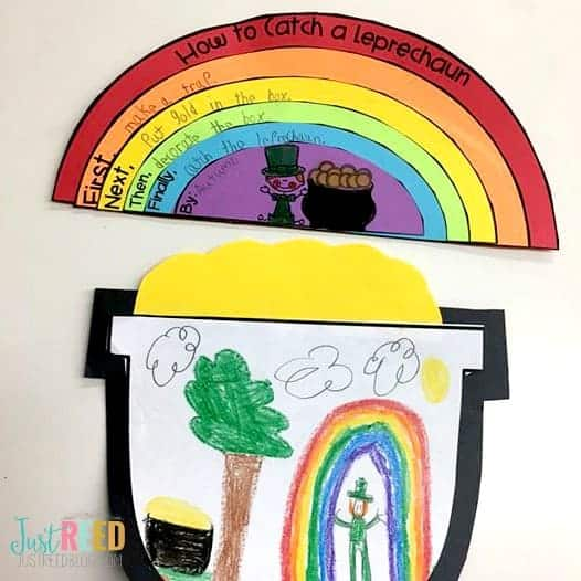 How to Catch a Leprechaun Rainbow Writing Activity for St. Patrick's Day